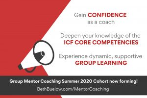 Summer 2020 Group Mentor Coaching